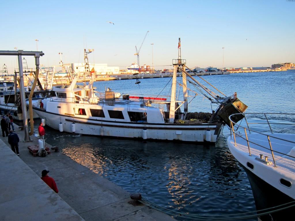 Fiskekutter i Denia
