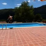 Pooltid - hop i egen pool i vores feriehus