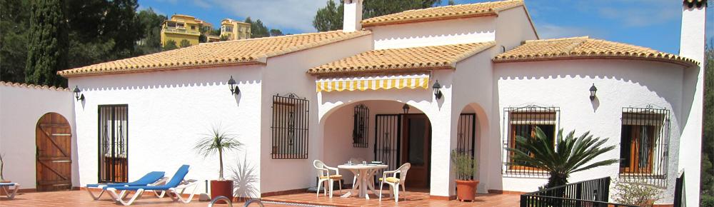 Les Basetes – vores feriehus i Spanien